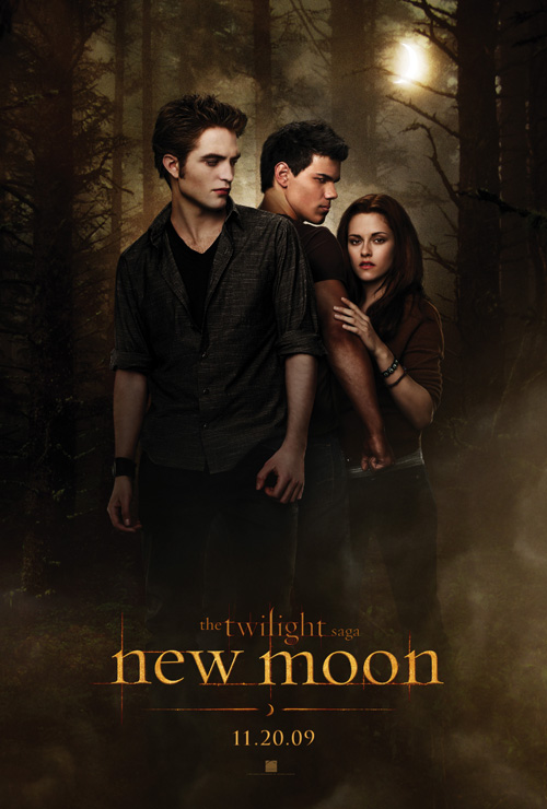 "From a poster for ""New Moon""."
