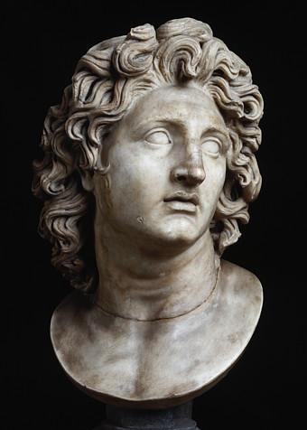 A statue of Alexander