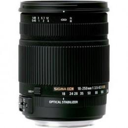 Sigma 18-250mm OS Lens for Digital SLR camera