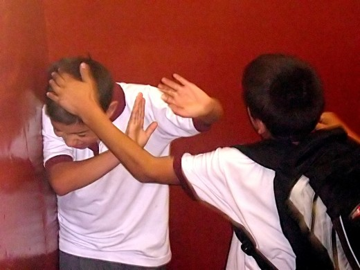 Bullying can be physically or psychologically abusive.