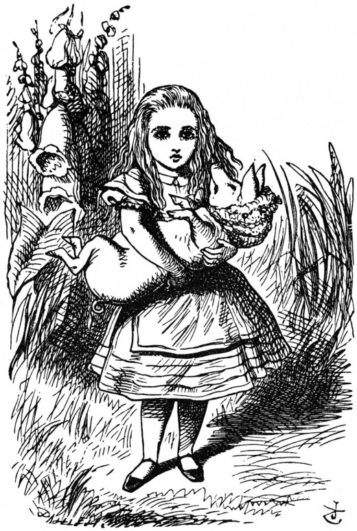 """""""O Piglet!"""" scolded Alice.  """"Not wallowing again!"""""""