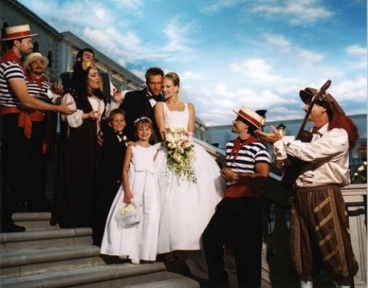 Wedding at the Venetian Hotel Las Vegas