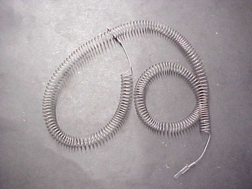 There are two sizes of restring coil, measure the connectors.  Be sure to purchase the correct one.