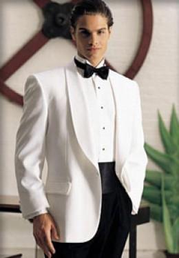 """The """"white dinner jacket""""."""
