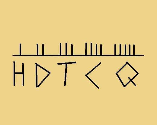 H, D, T, C, Q
