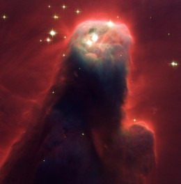 Cone Nebula (NGC 2264): Star-Forming Pillar of Gas and Dust
