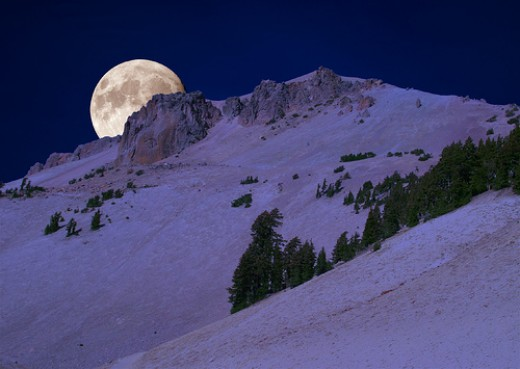 Snow moon, Opening Buds moon, Hunger moon, Storm moon