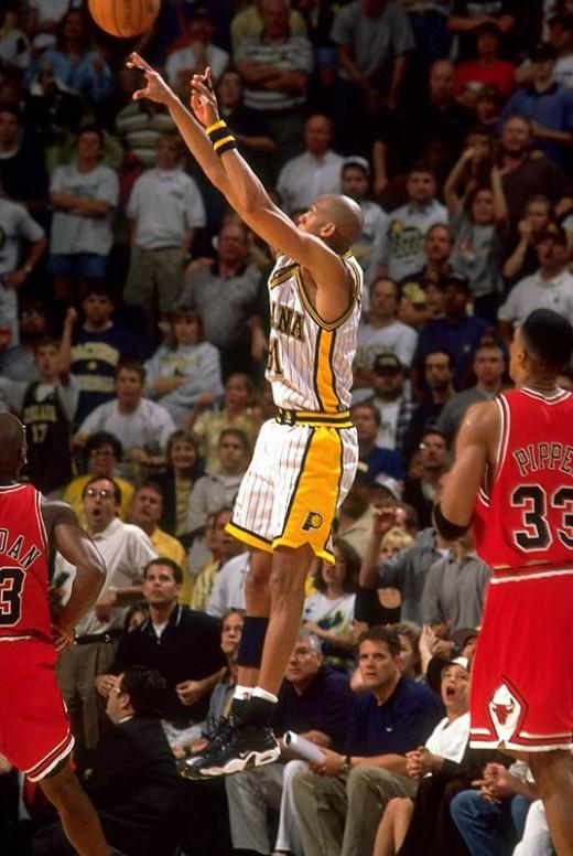 Reggie Beats Jordan