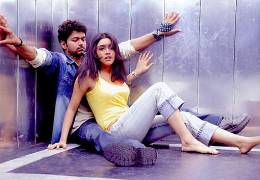Vijay with Asin in POKKIRI
