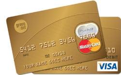Prepaid Visa and MC