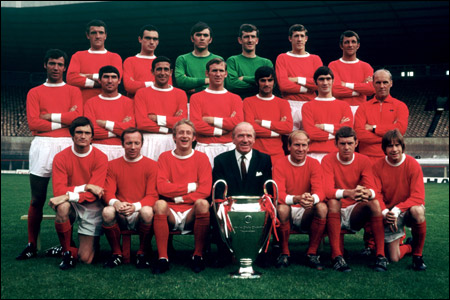 1968 European Cup Winning Team