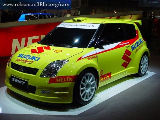 Modified Maruti Swift Design 2 for Race