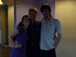 With tango teachers Rolo & Coty