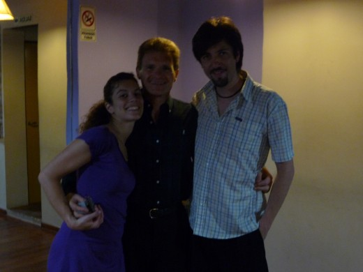 With tango teachers Rolo & Coty