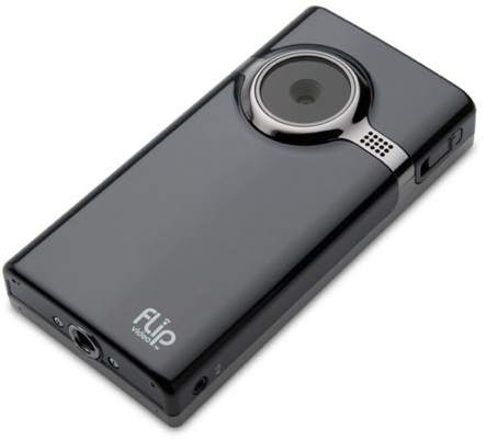 Flip Mino HD camcorder camera in Black