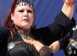 tribal belly dancer