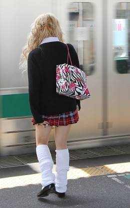 Japanese schoolgirls are famous for their fashion sense