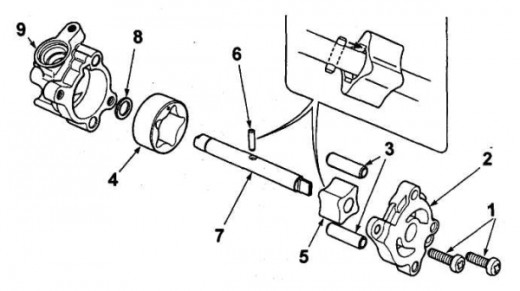 honda 500 foreman engine diagram
