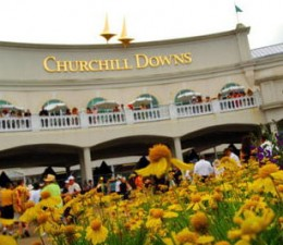 Churchill Downs, home of the Kentucky Derby.
