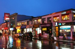 Koreatown at night