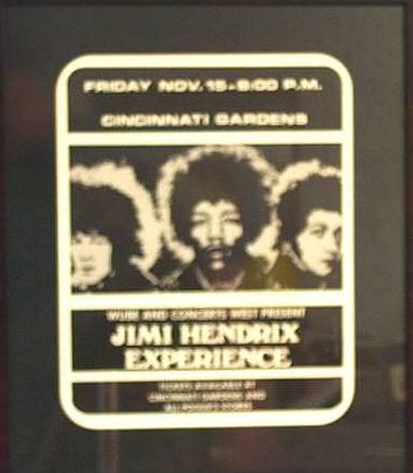 Jimi at Cincinnati Gardens!