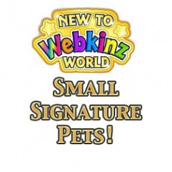 Webkinz Small Signature Pets