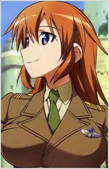 Strike Witches snapshot of Shirley.