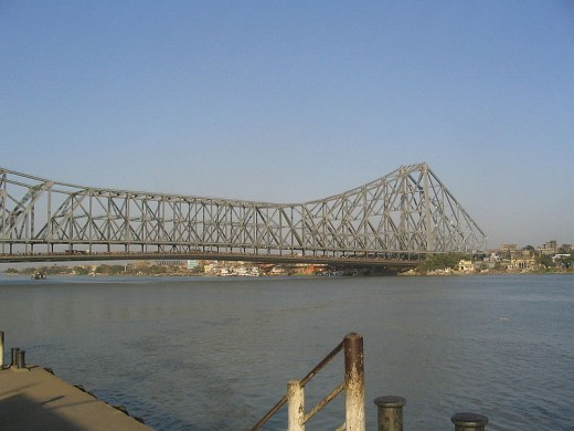 Howrah Bridge at Kolkata