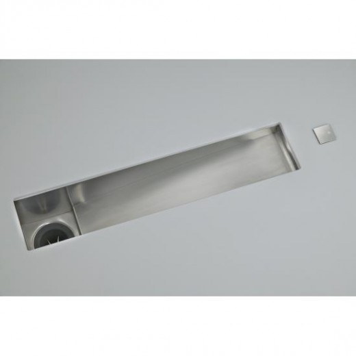Commercial Trough Sink : Commercial undercounter trough sink