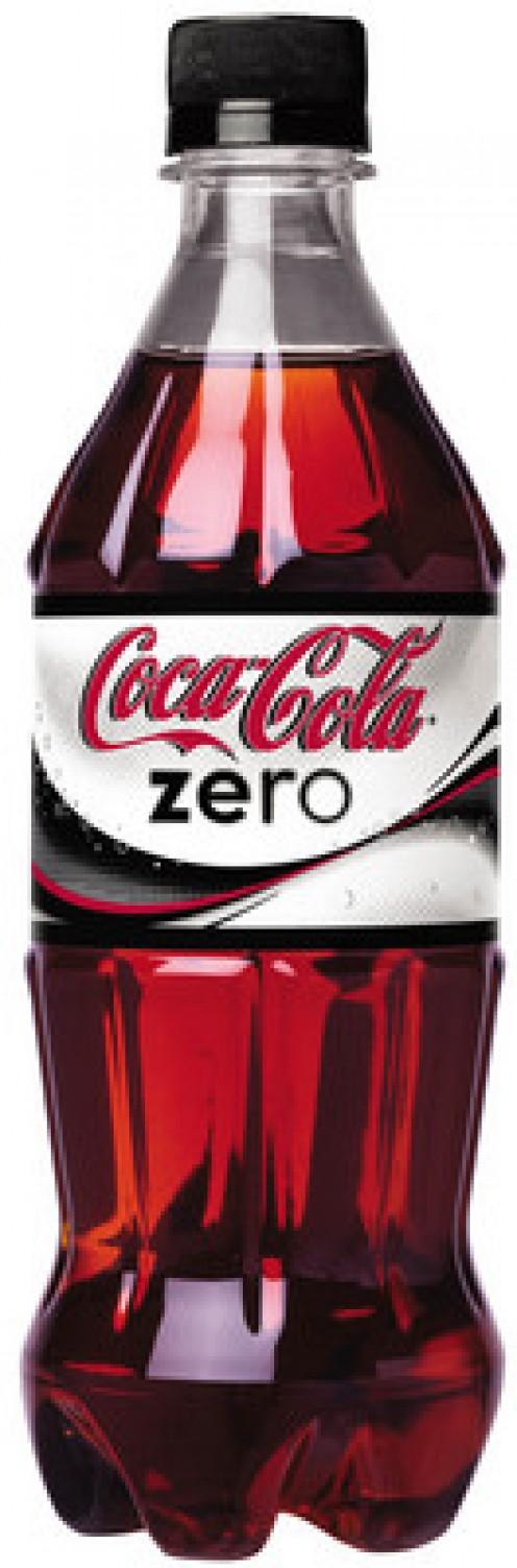 Coke Zero bottle and contents. Courtesy of Coca Cola Company