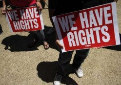 Yes indeed, everyone has rights!