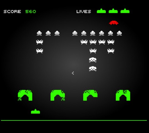Play free on line Space Invaders!