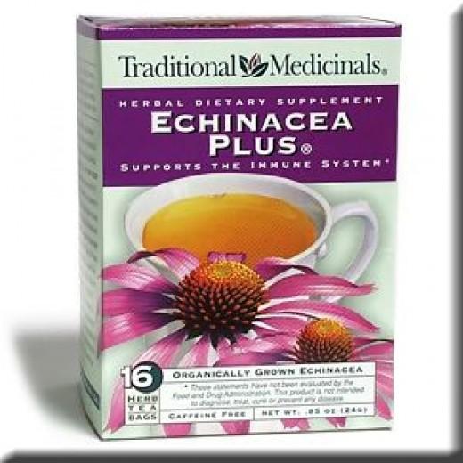 Echinacea plus tea