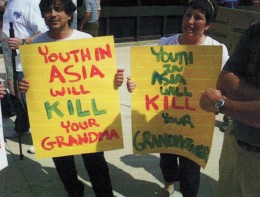 Yeah -- look out for those youth in Asia.