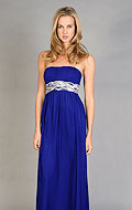 photo credit: edressme.com       Strapless cobalt gown by JS boutique, $188, currently available in size 12 only