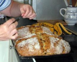 Irish Sultana Soda Bread