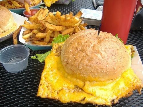 The Squeeze Inn Cheese Skirt