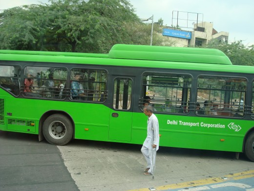 Delhi Transport Corporation Bus