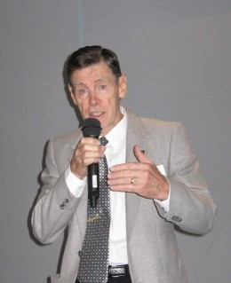 Tom Ware's been addressing audiences since 1972 and has spoken to over 40,000 people during this time.