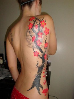 The Cherry Blossom Tattoo on Japanese Women