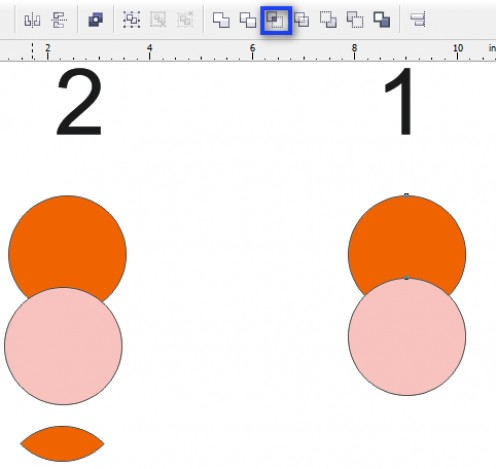 how to use corel draw tools