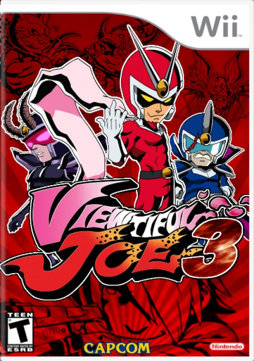 Viewtiful Joe 3 Mock Boxart (Creator Unknown)