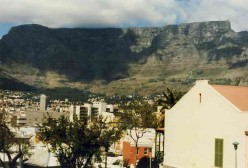 Table Mountain from Die Bo Kaap. Photo Tony McGregor