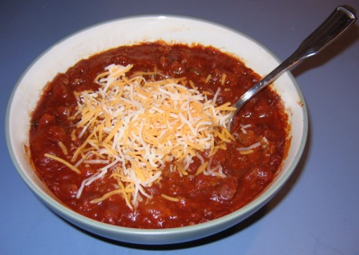 Having a tailgate party then you should try this really great chili.