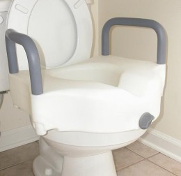 Toilet Seat Riser with arms
