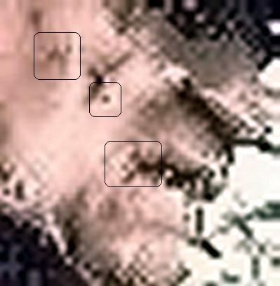 Enhanced closeups of his scars and face. Coincidence? Nope!