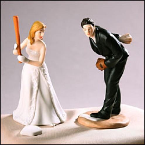 Baseball Wedding Cakes