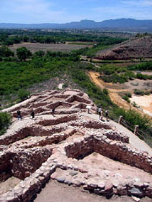 20 miles from Sedona is an excavation relating to the Toozigoot Peoples. Many ancient cultures lived in this part of Arizona.