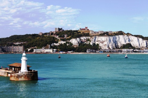 The White Cliffs of Dover - Photo Copyright 2010 Bill Yovino