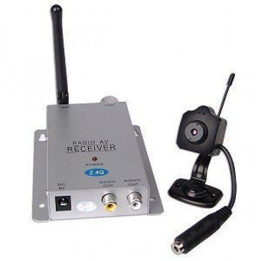Mini Wireless Web Cameras